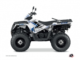 Polaris 450 Sportsman ATV 60th Anniversary Graphic Kit Blue