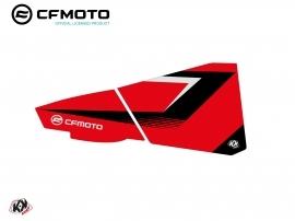 Graphic Kit Lower Half Doors BPZ3 CF Moto Zforce 500-550-800-1000 Red