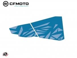 Graphic Kit Lower Half Doors BPZ4 CF Moto Zforce 500-550-800-1000 Blue