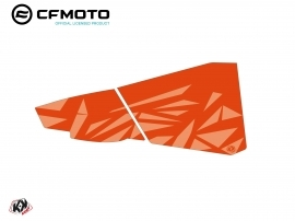 Graphic Kit Lower Half Doors BPZ4 CF Moto Zforce 500-550-800-1000 Orange