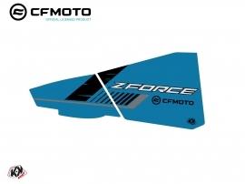 Graphic Kit Lower Half Doors BPZ5 CF Moto Zforce 500-550-800-1000 Blue