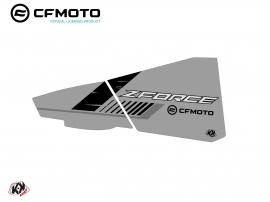 Graphic Kit Lower Half Doors BPZ5 CF Moto Zforce 500-550-800-1000 Grey