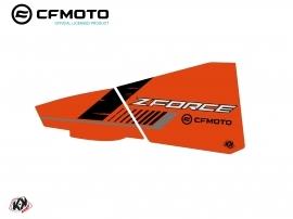 Graphic Kit Lower Half Doors BPZ5 CF Moto Zforce 500-550-800-1000 Orange