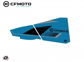 Graphic Kit Lower Half Doors BPZ6 CF Moto Zforce 500-550-800-1000 Blue