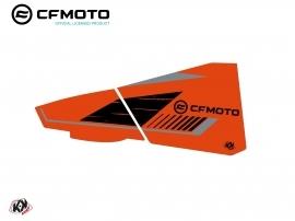 Graphic Kit Lower Half Doors BPZ6 CF Moto Zforce 500-550-800-1000 Orange