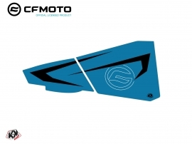 Graphic Kit Lower Half Doors BPZ7 CF Moto Zforce 500-550-800-1000 Blue