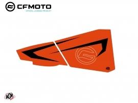 Kit Déco Bas de Portes BPZ7 CF Moto Zforce 500-550-800-1000 Orange