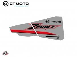Kit Déco Bas de Portes BPZ8 CF Moto Zforce 500-550-800-1000 Gris