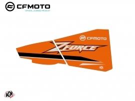 Kit Déco Bas de Portes BPZ8 CF Moto Zforce 500-550-800-1000 Orange