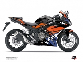 Honda CBR 500 R Street Bike Nineties Graphic Kit Black