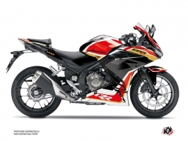 Honda CBR 500 R Street Bike Run Graphic Kit Black