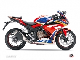 Honda CBR 500 R Street Bike Run Graphic Kit Red