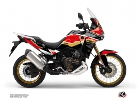 Honda Africa twin Adventure Sport Street Bike Run Graphic Kit Black