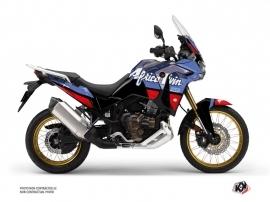 Honda Africa twin Adventure Sport Street Bike Rampage Graphic Kit Black