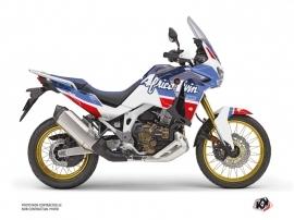 Honda Africa twin Adventure Sport Street Bike Rampage Graphic Kit White