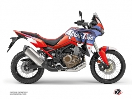 Honda Africa twin Street Bike Rampage  Graphic Kit Red
