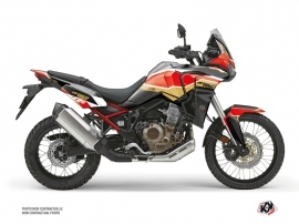 Honda Africa twin Street Bike Run Graphic Kit Black