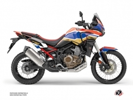 Honda Africa twin Street Bike Run Graphic Kit Red