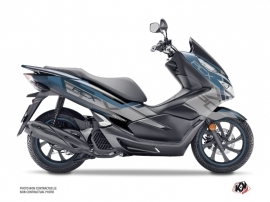 Honda PCX 125 Maxiscooter Challenge Graphic Kit Grey