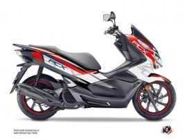 Honda PCX 125 Maxiscooter Challenge Graphic Kit White