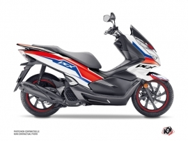 Honda PCX 125 Maxiscooter Run Graphic Kit White