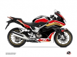 Kit Déco Moto Run Honda VFR 800 Noir
