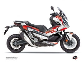 Honda X-ADV Maxiscooter Challenge Graphic Kit Red