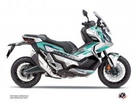 Honda X-ADV Maxiscooter Challenge Graphic Kit White