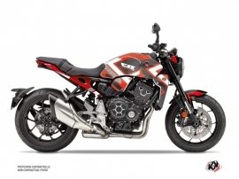 Honda CB 1000 R Street Bike Square Graphic Kit Red