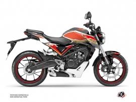 Honda CB 125 R Street Bike Run Graphic Kit Black