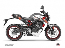 Honda CB 125 R Street Bike Square Graphic Kit Black