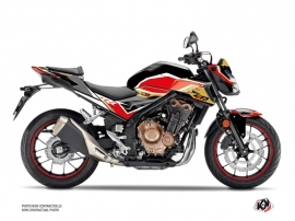 Kit Déco Moto Run Honda CB 500 F Noir