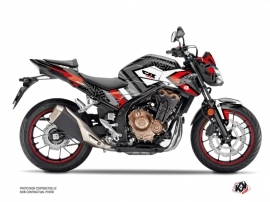 Kit Déco Moto Square Honda CB 500 F Noir