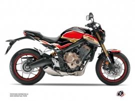 Honda CB 650 R Street Bike Run Graphic Kit Black