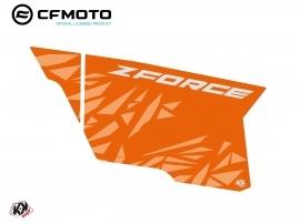 Graphic Kit Complete Doors PCZ14 CF Moto Zforce 500-550-800-1000 Orange