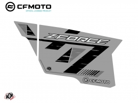 Graphic Kit Complete Doors PCZ15 CF Moto Zforce 500-550-800-1000 Grey