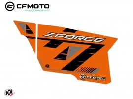 Graphic Kit Complete Doors PCZ15 CF Moto Zforce 500-550-800-1000 Orange