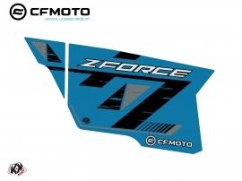 Graphic Kit Complete Doors PCZ16 CF Moto Zforce 500-550-800-1000 Blue