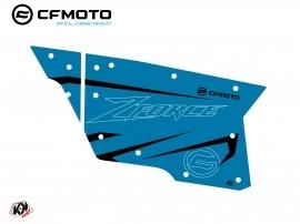 Graphic Kit Complete Doors PCZ17 CF Moto Zforce 500-550-800-1000 Blue
