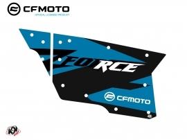 Kit Déco Portes Complètes PCZ18 CF Moto Zforce 500-550-800-1000 Bleu