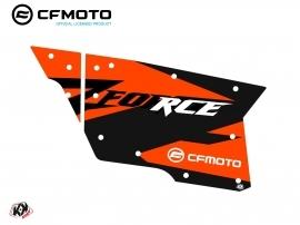 Kit Déco Portes Complètes PCZ18 CF Moto Zforce 500-550-800-1000 Orange