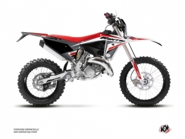 Fantic 125 XE Dirt Bike Mantova Graphic Kit Black