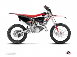 Fantic 125 XX Dirt Bike Mantova Graphic Kit Black