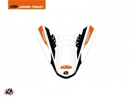 Graphic Kit Seat Cowl Moto Arkade KTM Orange White