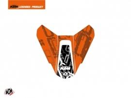 Graphic Kit Seat Cowl Moto Krav KTM Black Orange