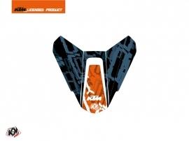 Graphic Kit Seat Cowl Moto Krav KTM Orange Blue