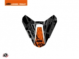 Graphic Kit Seat Cowl Moto Krav KTM Orange Black