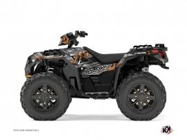 Polaris 850 Sportsman Forest ATV Lifter Graphic Kit Orange
