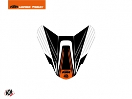 Graphic Kit Seat Cowl Moto Perform KTM Black White