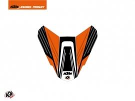 Graphic Kit Seat Cowl Moto Perform KTM Orange Black